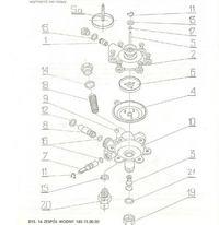 Termet 0089 - Nie włącza się główny palnik. Membrana w stanie idealnym.