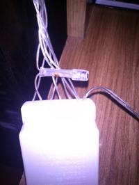 Lampki choinkowe. Nie działa jedna linia/żyła.