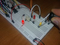 ATtiny2313 - Podłączenie przekaźnika NEC UB2-3NU