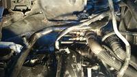 Renault Trafic 2.0 - Zapaliły się przewody od grzałek