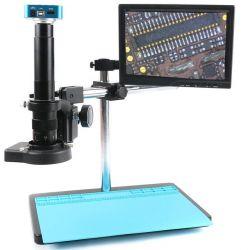 Mikroskop cyfrowy z LCD i baterią