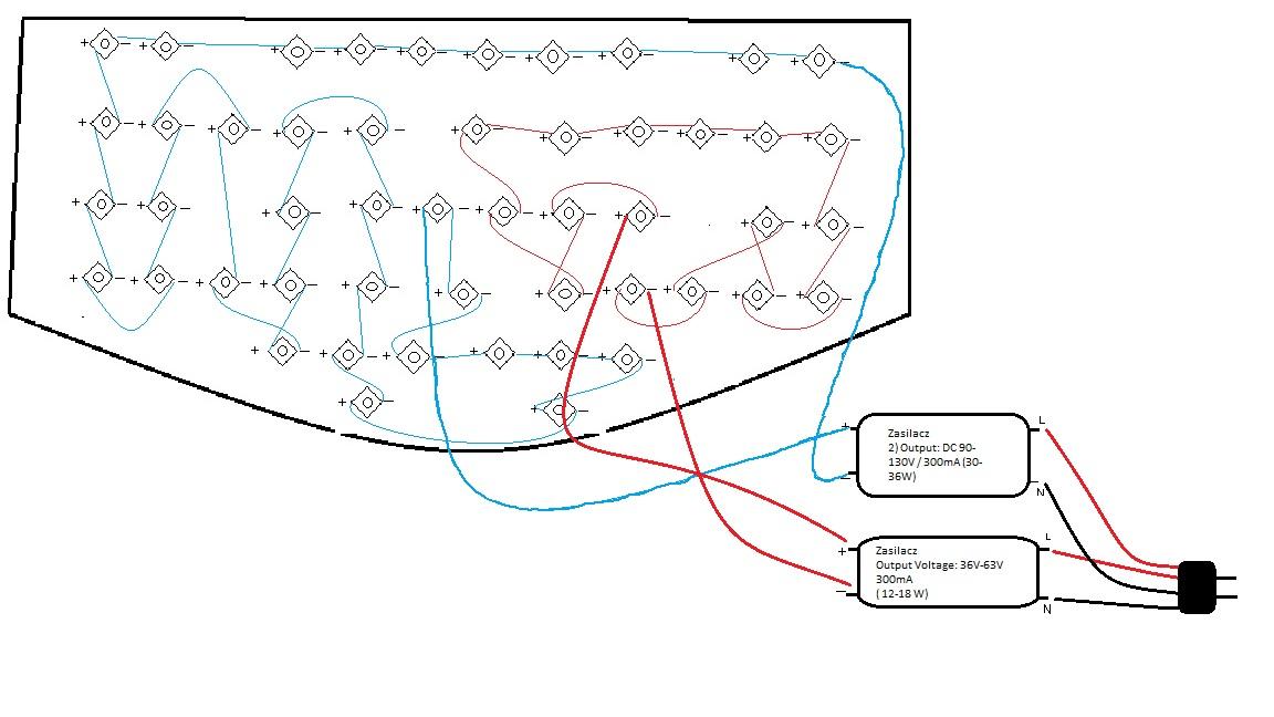 Budowa Oświetlenie Akwarium Led Elektrodapl