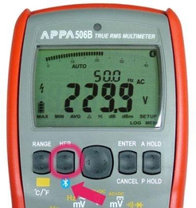 Pomiary z transmisją wyników miernikami APPA serii B