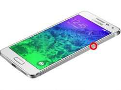 Samsung Galaxy Alpha SM G850F - LCD migocze, gaśnie po ściśnięciu ramki
