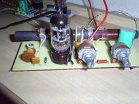 Radioodbiornik na rosyjskich lampach.