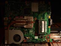 Toshiba Satellite L300-1A3 nie ładuje
