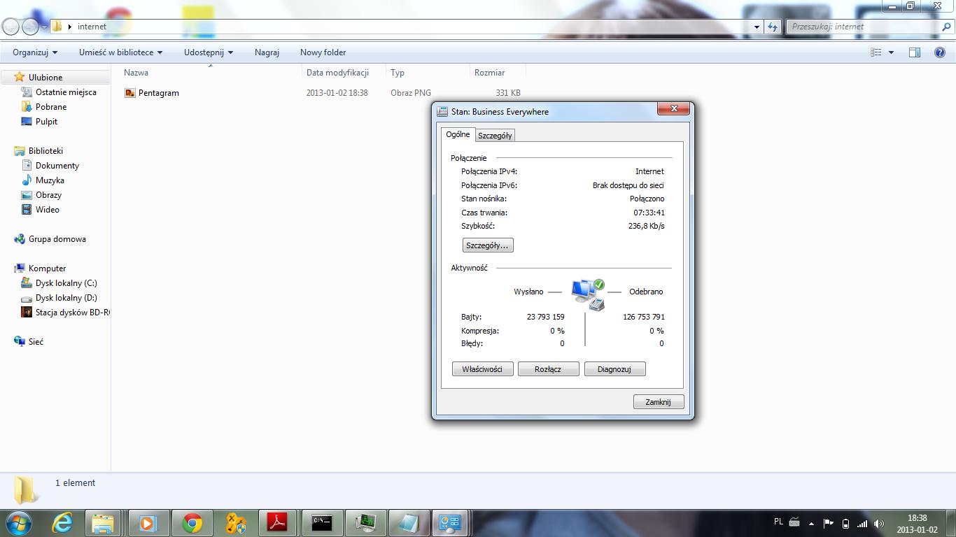 ORANGE HUAWEI MOBILE 3G + Pentagram Cerberus 802.11g Czy da si� po��czy�