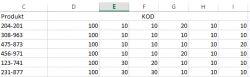 [VBA][EXCEL] Wyszukiwanie w tabeli po określonym kodzie
