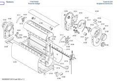 Przezwojenie cewki? Toster marki siemens porsche design P7313 e-nr TT911P2/01.