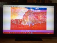 SONY KDL-40BX420 - Pasek na ekranie