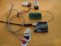 Modu� elektromiografu do pomiar�w potencja�u elektrycznego mi�ni
