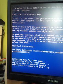 Komputer po dłuższym nieuruchamianiu dosłownie 2 czy 3 dni wyrzuca bluescreen