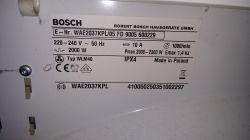 Bosch WAE20160PL/14 FD Maxx 6 - Migające diody