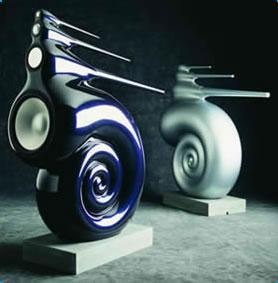 """Innowacyjny g�o�nik Nautilus z subwooferem 12"""" od Bowers & Wilkins"""