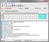 ATMEGA2561 - Programator jej nie widzi