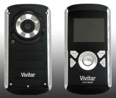 DVR 690HD - kamera HD z futera�em wodoodpornym od Vivitar