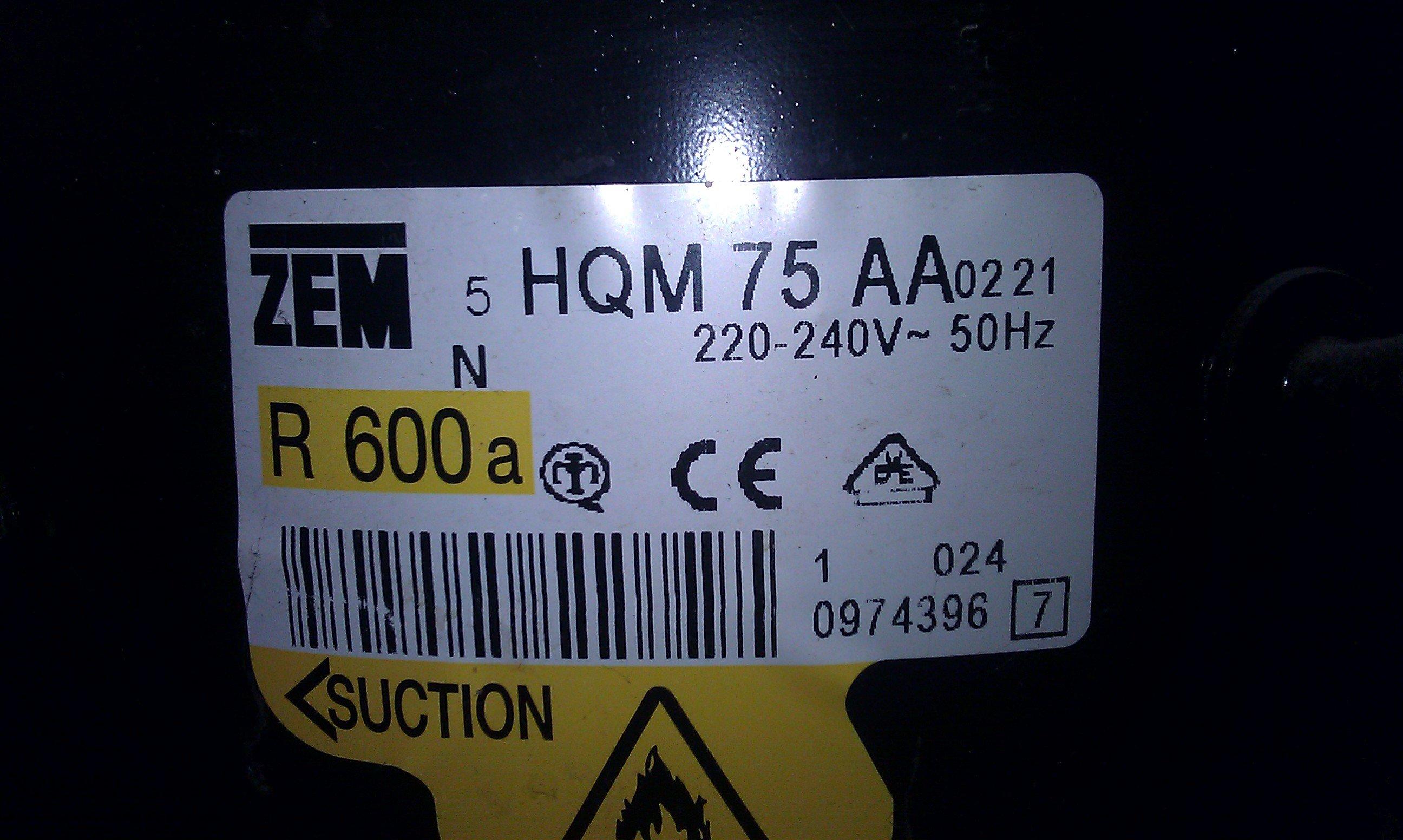 Electrolux ERB-3322 - Zamra�alka ch�odzi zamiast zamra�a�, agregat dzia�a/buczy