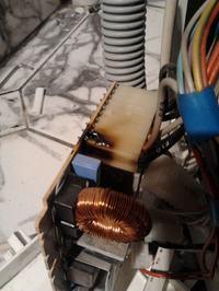 Ardo SED1010 - �mierdzi z kondensatora?