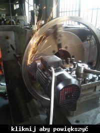 """Elektrowrzeciono 2,2kW ER25 z silnika typu """"jamnik""""."""