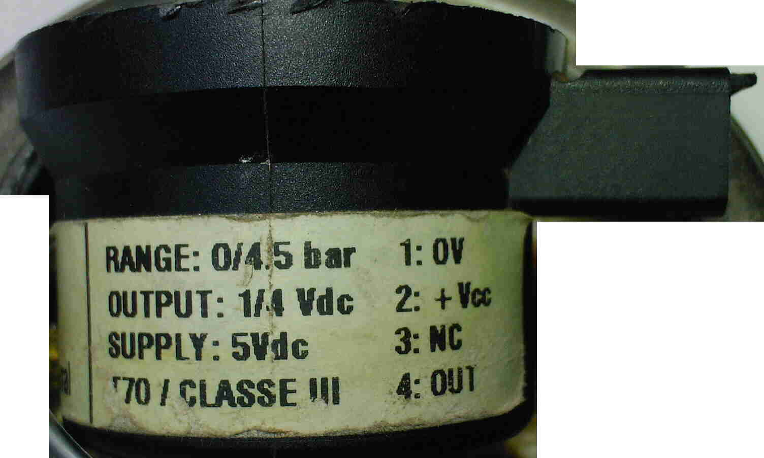 Kocio� Combitek C 24 E uszkodzony czujnik PSN0001 A