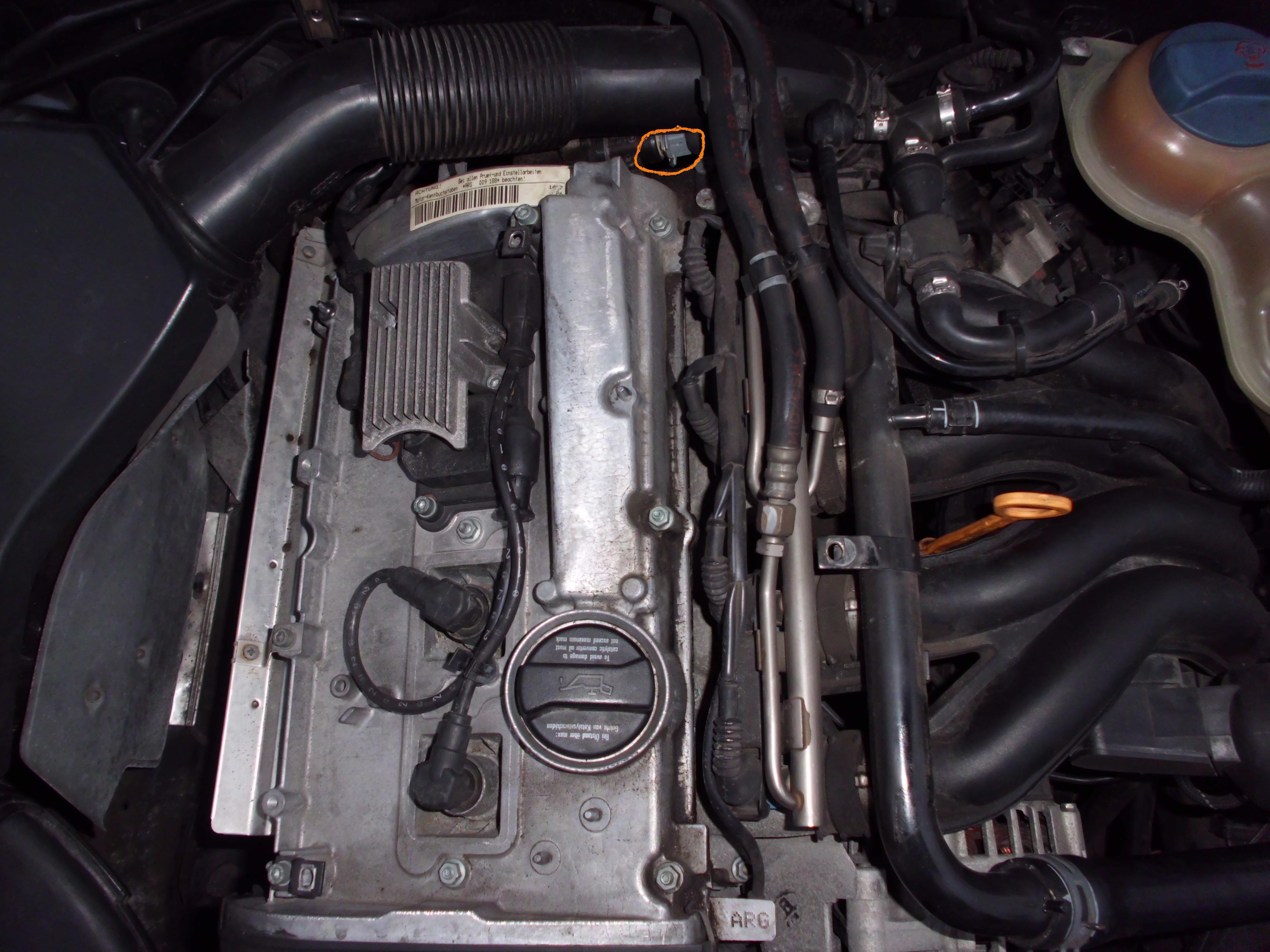 Audi A4 B5 18 Benzyna Czujnik Temperatury Cieczy Chłodzącej