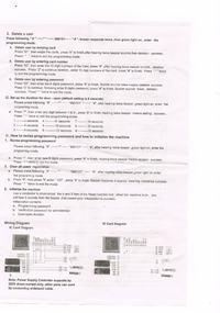 Rfid access controll - chińska klawiatura wprowadzenie kodu