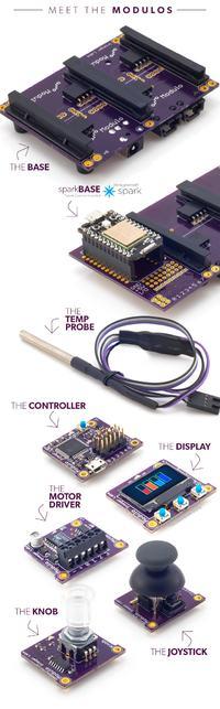 Modulo - zestaw płytek prototypowych bez kabelków