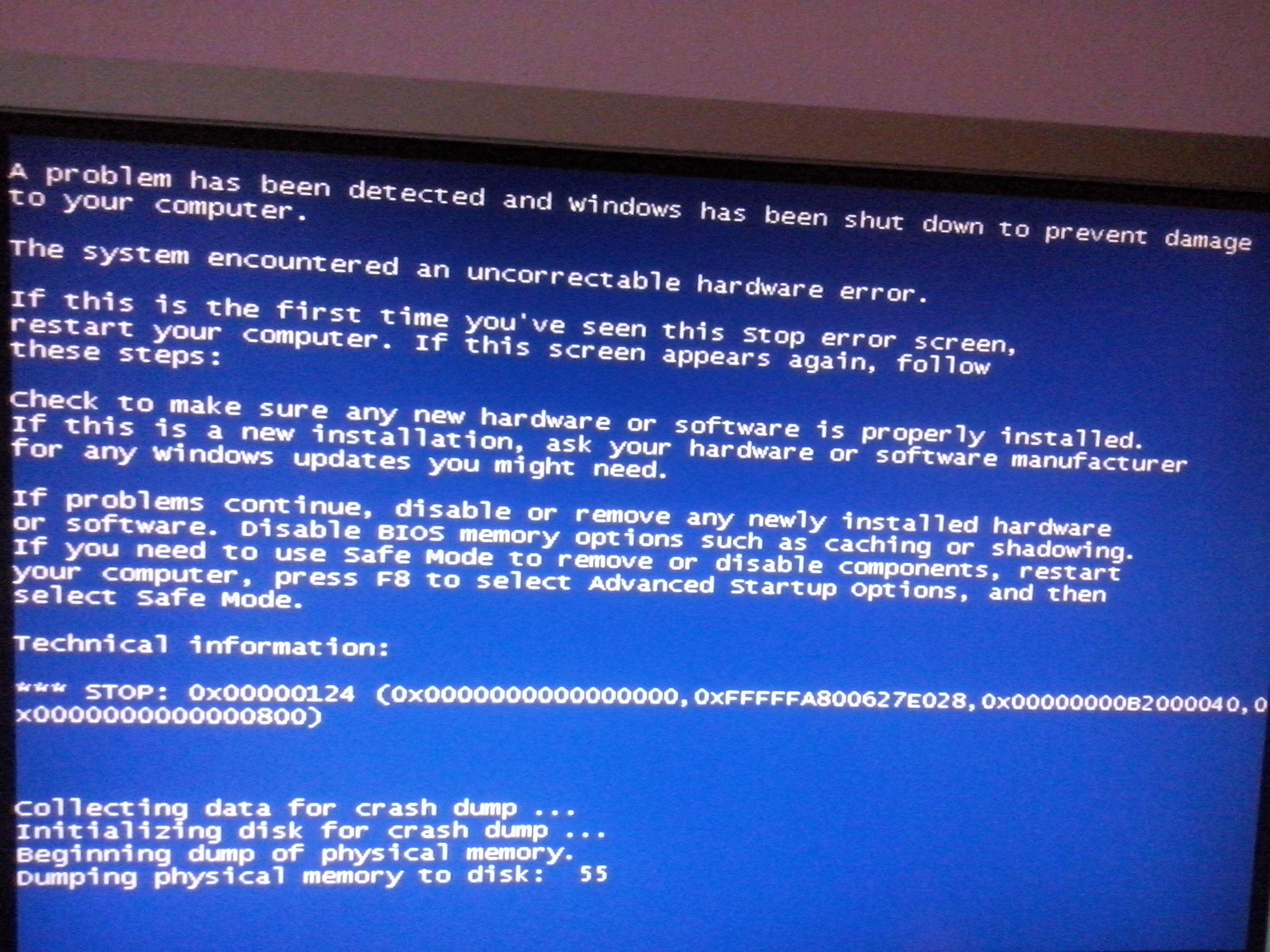 Komputer Stacjonarny - Wyskakuj�cy b��d z BIOS'a po dodaniu nowych ko�ci RAM