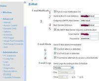 Ruter Air-LIve WN-200R. Jak ustawi�, aby wysy�a� co godzin� logi na e-mail?