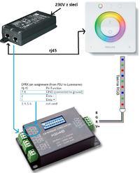 Philips UIA8550 PSU - pod��czenie