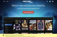 Popcorn Time - portal do streamingu torrent�w powraca