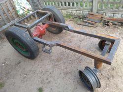 Traktorek SAM - Przeniesienie napędu na most