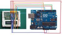 Arduino - Optymalizacja sterownika LCD LM15SGFNZ07 (Siemens A60, S55, ...)