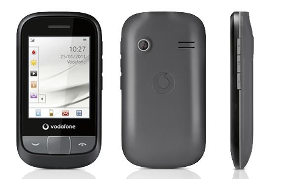 455 - nowy bud�etowy aparat z logo Vodafone