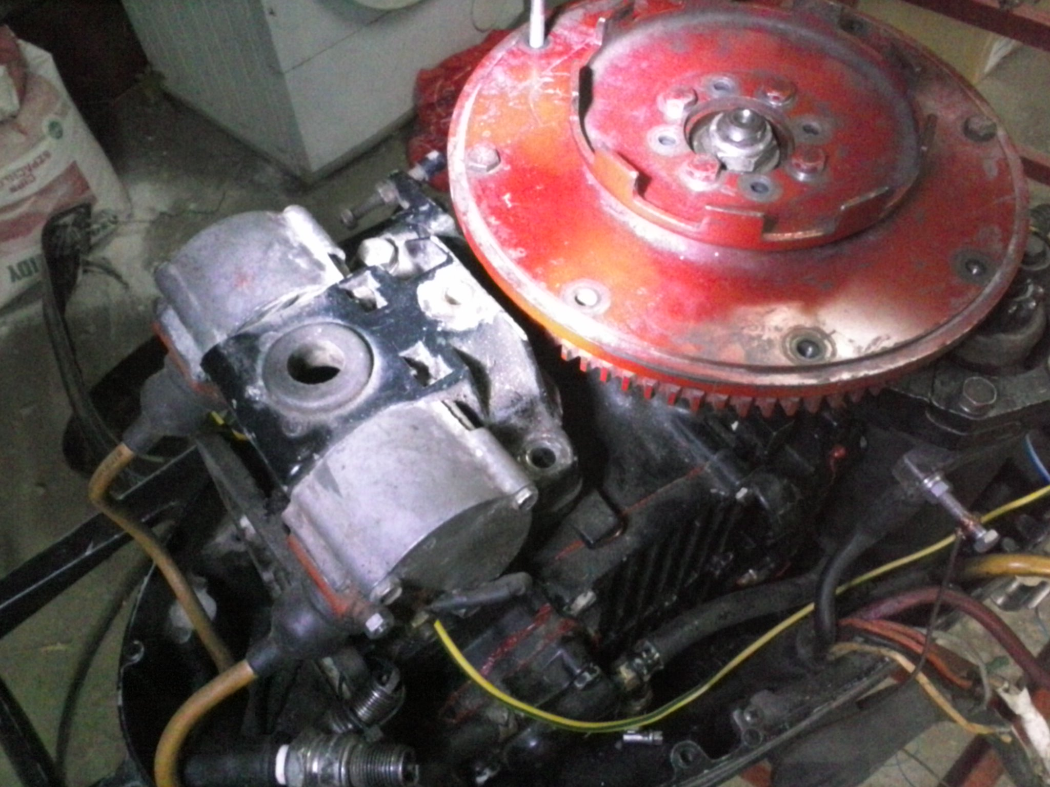 Mercury Marine silnik zaburtowy. Modu� zap�onowy