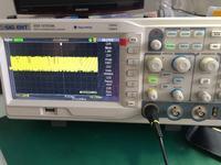 oscyloskop w gsm - diagnoza płyty z telefonu i9001
