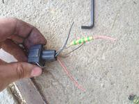 audi a4 b5 czujnik ciśnienia klimatyzacji podłączenie przewodów