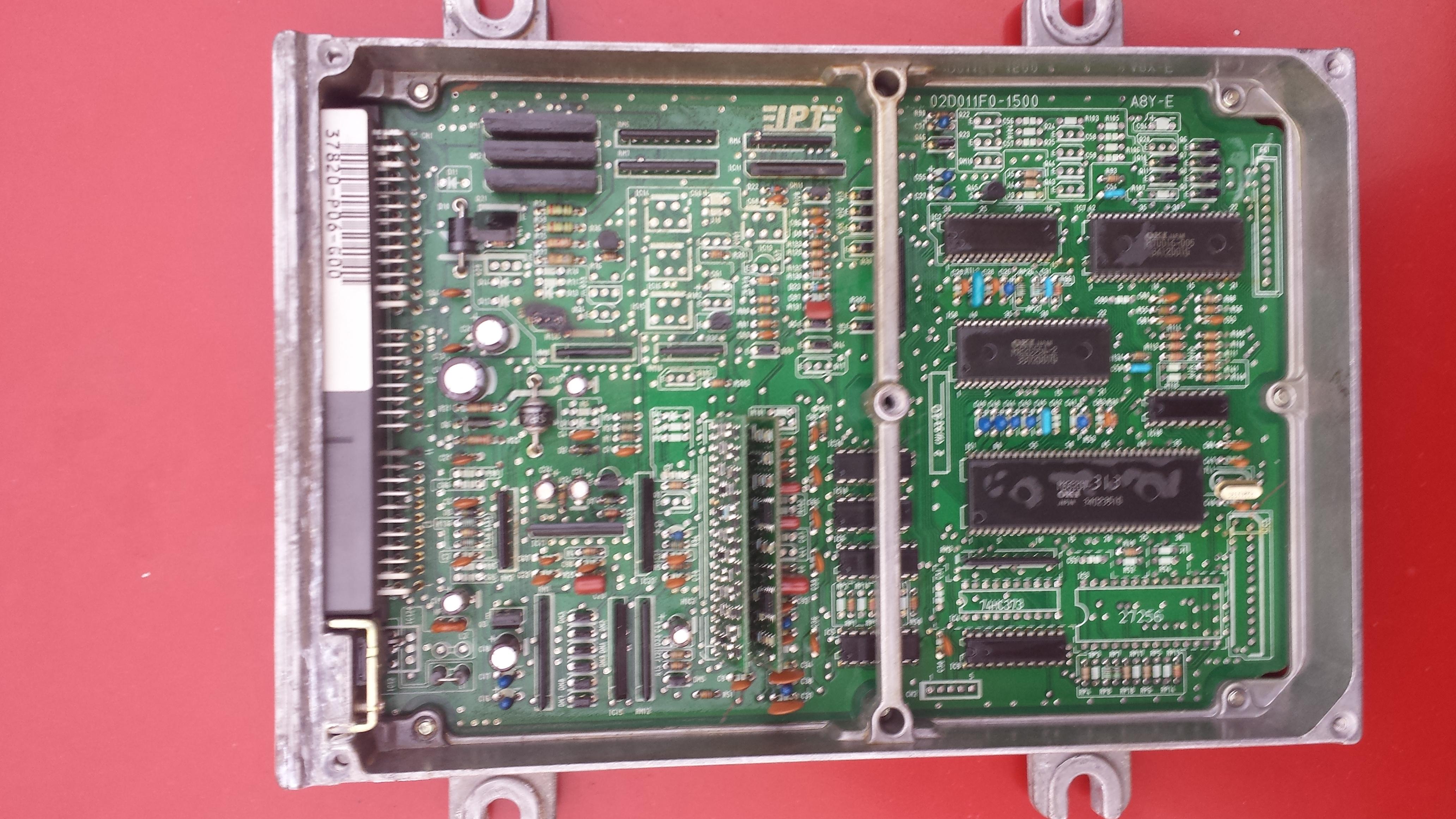 Honda Civic 1.5 d15b7 - Spalony komputer