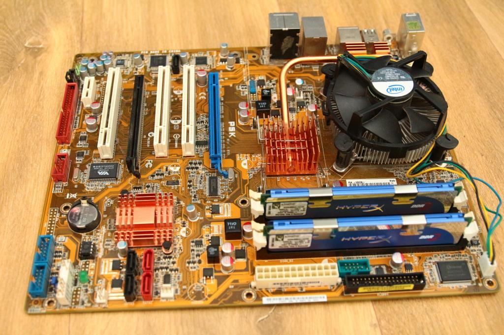 [Sprzedam] P�yta g��wna ASUS P5K, procesor Intel Core 2 Duo E8500 oraz 4 Gb RAM