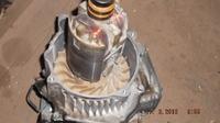 Agregat MATRIX PG 3000 - jakie jest połączenie wirnika z wałem korbowym?