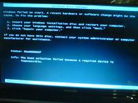 """Toshiba Satellite L750-144 - W7 nie można uruchmić opcji """"Napraw komputer&"""