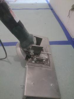 Przystawka do ciecia płytek pod kątem.