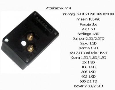 Immobiliser Saxo 1,5D 98r