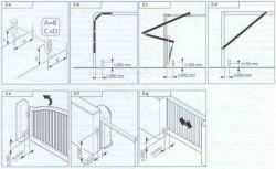 Wysokość montażu fotokomórek bramy wjazdowej