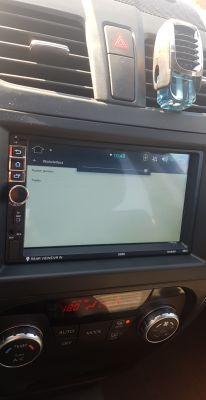 Chińskie radio z alliexpres SWM 8802 android jasność ekranu