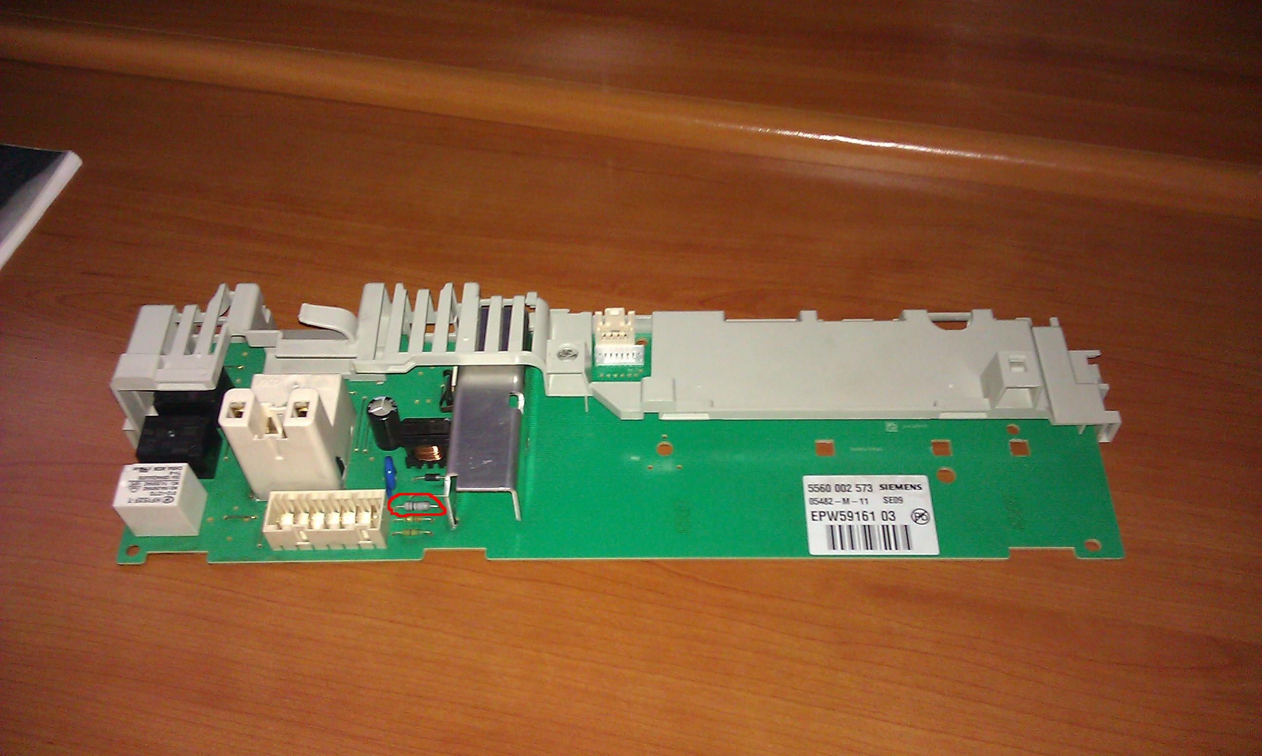 Bosch WFL1602 - Pro�ba o inentyfikacje opornika