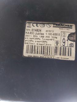 Karcher K4.650 Jubilee nie załącza się po naciśnięciu spustu pistoletu