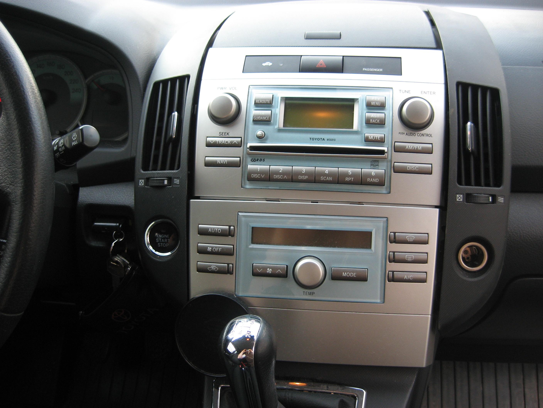 Brak g�osu w radiu Toyota Corolla Verso 2005 navi W58810