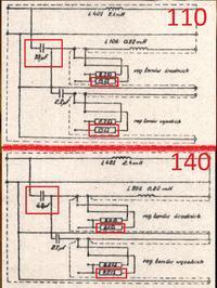 Altus 110 (HGS)- wymiana kondensatorów zwrotnic i różnica w budowie zwrotnicy