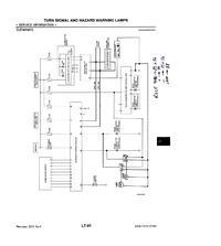 Nissan Murano - Przyspieszona praca migaczy